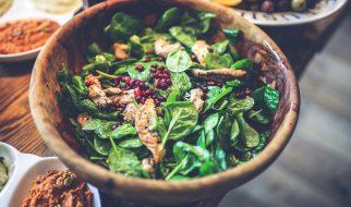 Spinazie salade tandoori
