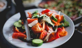 Salade tomaat