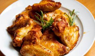 Pittige kip met knoflook