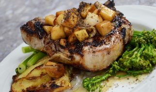 Varkensvlees met broccoli